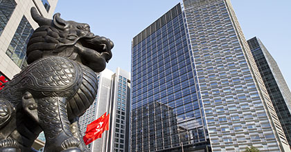 statue-lion-devant-tour-bureau